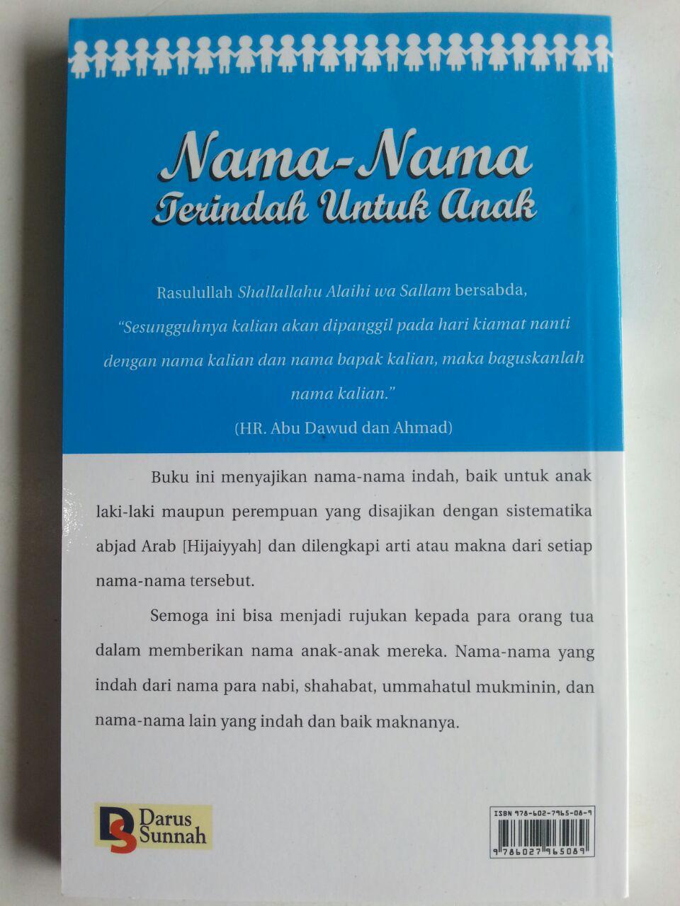 Buku Nama-Nama Terindah Untuk Anak cover