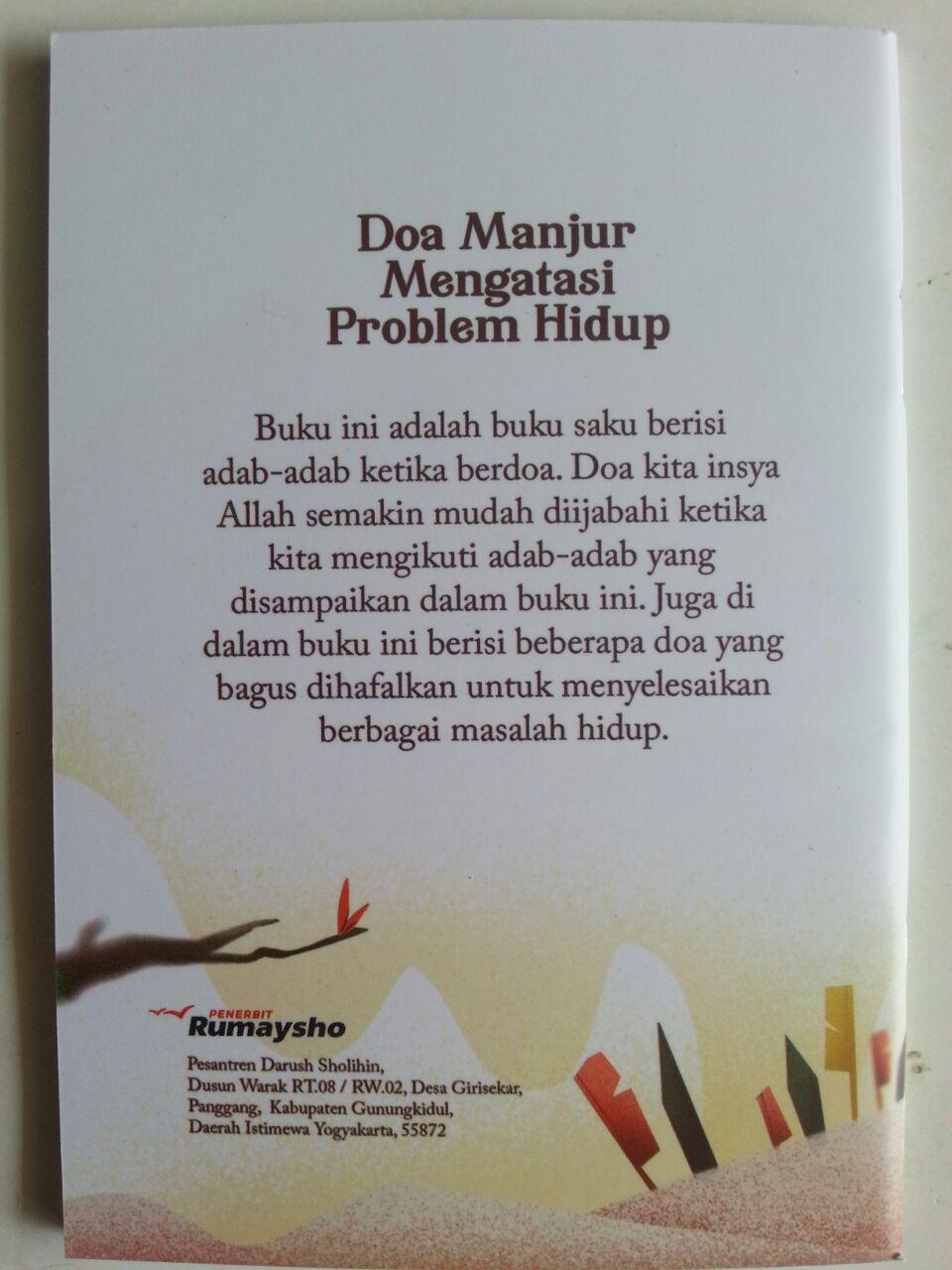 Buku Saku Doa Manjur Mengatasi Problem Hidup cover
