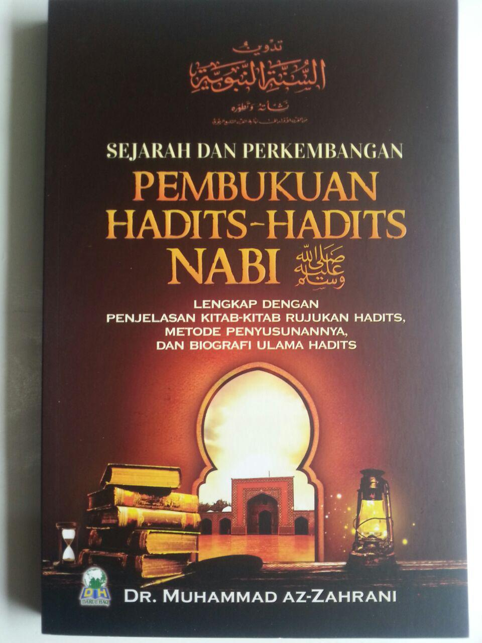 Buku Sejarah Dan Perkembangan Pembukuan Hadits-Hadits Nabi cover 2
