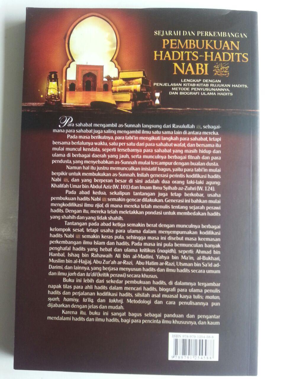 Buku Sejarah Dan Perkembangan Pembukuan Hadits-Hadits Nabi cover