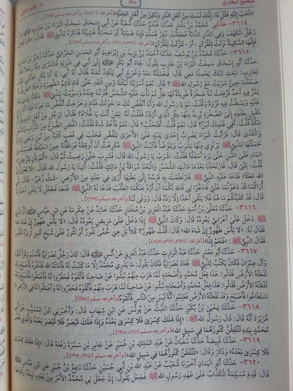 Kitab Shahih Al-Bukhari isi 3
