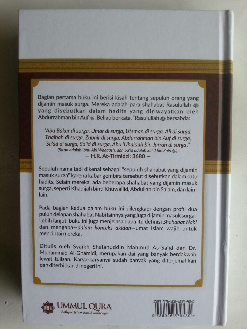Buku 38 Shahabat Yang Di Jamin Masuk Surga cover 3