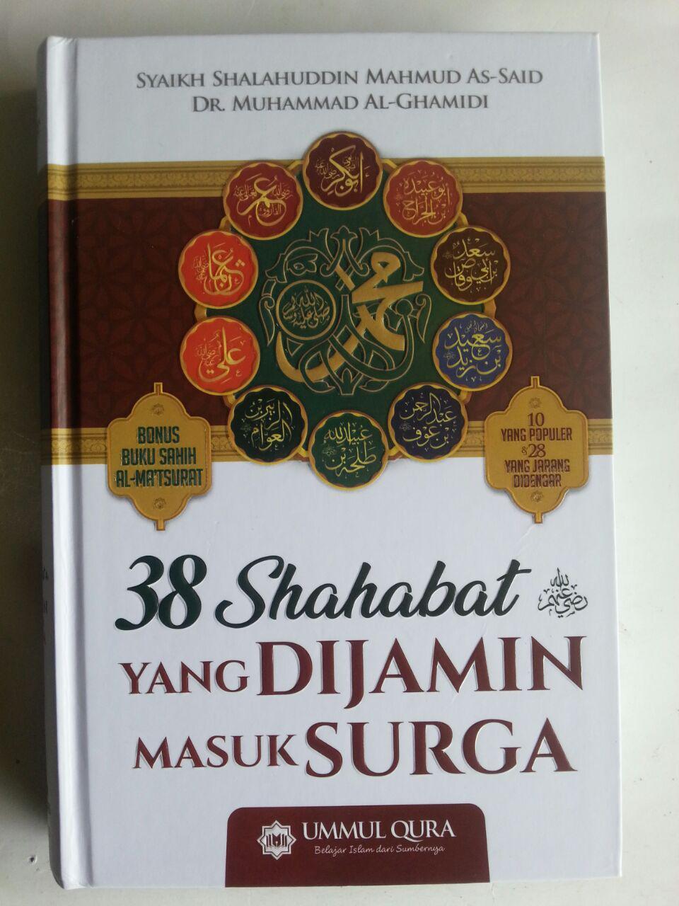 Buku 38 Shahabat Yang Di Jamin Masuk Surga cover 4