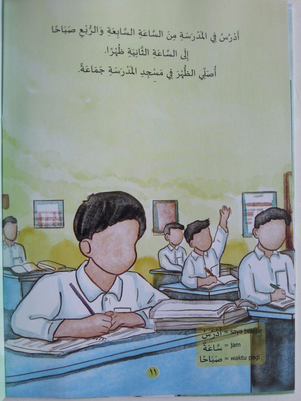 Buku Aku Anak Muslim Cerita Anak Berbahasa Arab Terjemah isi 3