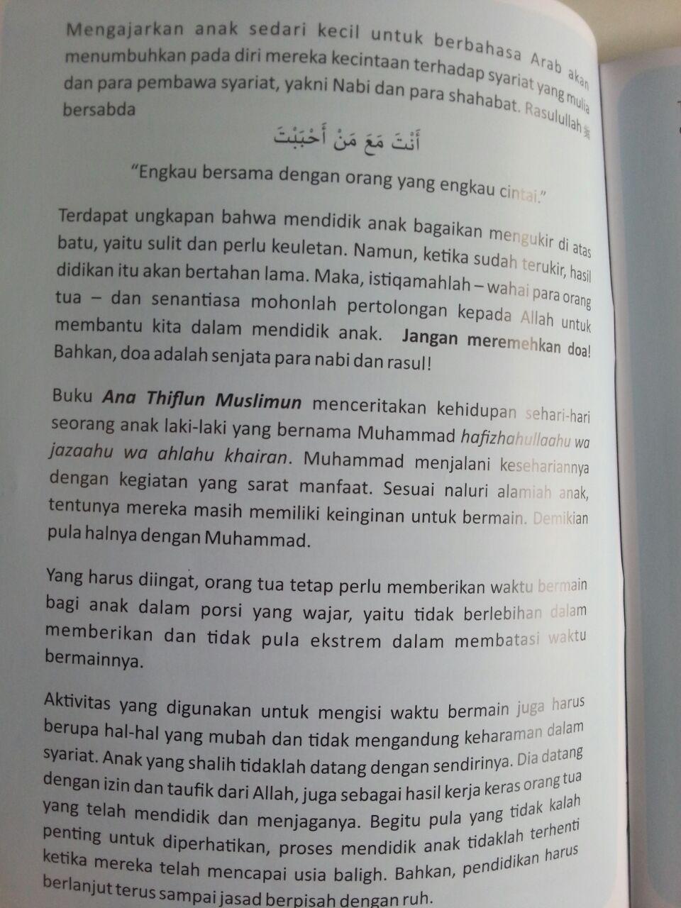 Buku Aku Anak Muslim Cerita Anak Berbahasa Arab Terjemah isi