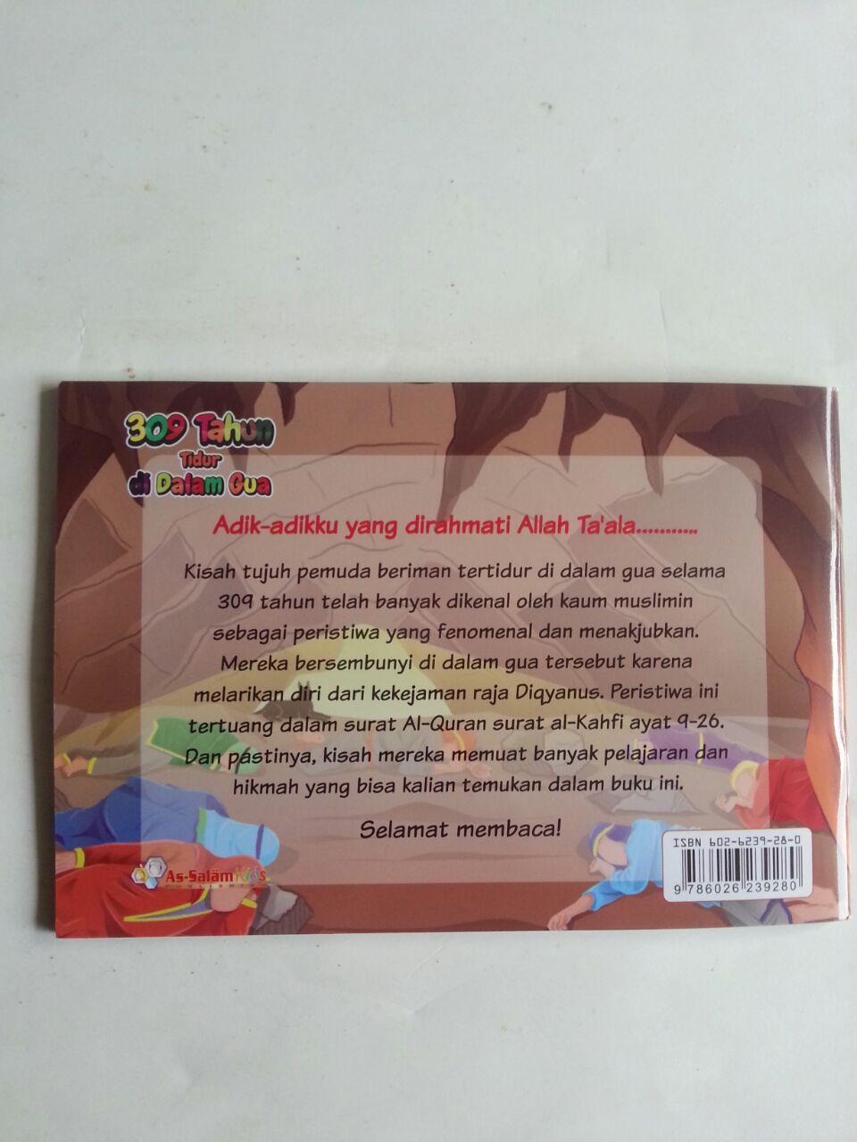 Buku Anak 309 Tahun Tidur Di Dalam Gua Kisah Ashabul Kahfi cover
