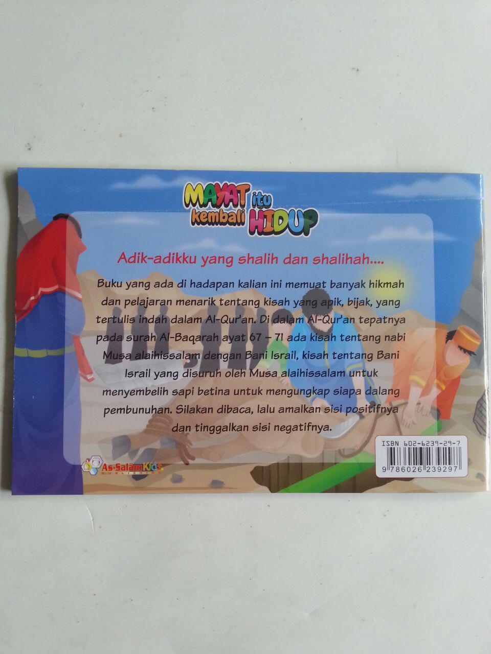 Buku Anak Mayat Itu Kembali Hidup Kisah Penyembelihan Sapi cover