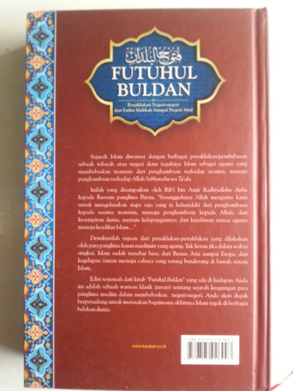 Buku Futuhul Buldan Penaklukkan Negeri Dari Makkah Sampai Sind cover
