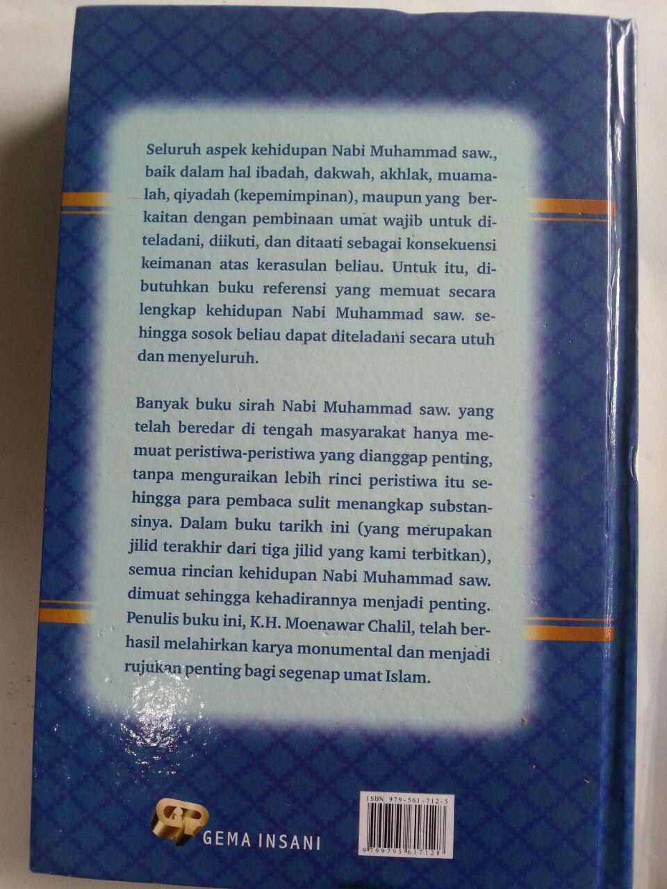 Buku Kelengkapan Tarikh Nabi Muhammad Set 3 Jilid cover 4