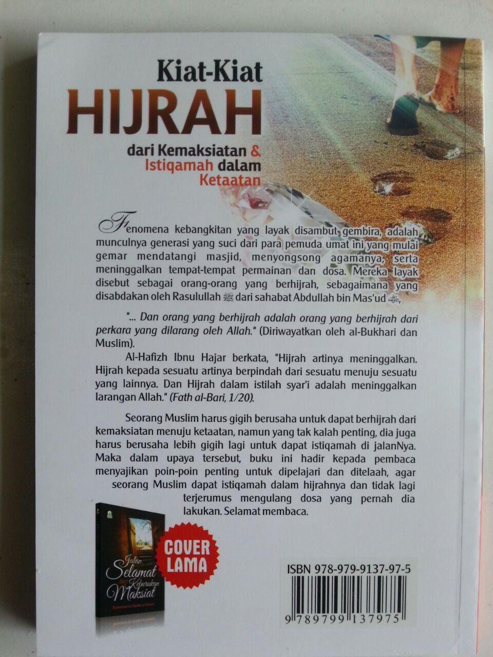 Buku Kiat-Kiat Hijrah Dari Kemaksiatan Kemudian Istiqomah Dalam Ketaatan cover