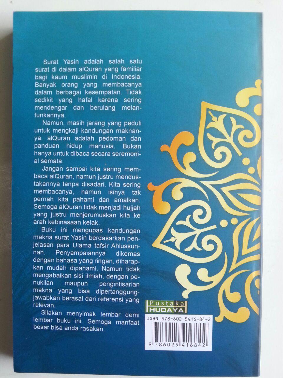 Buku Menggali Kandungan Makna Surat Yasin cover