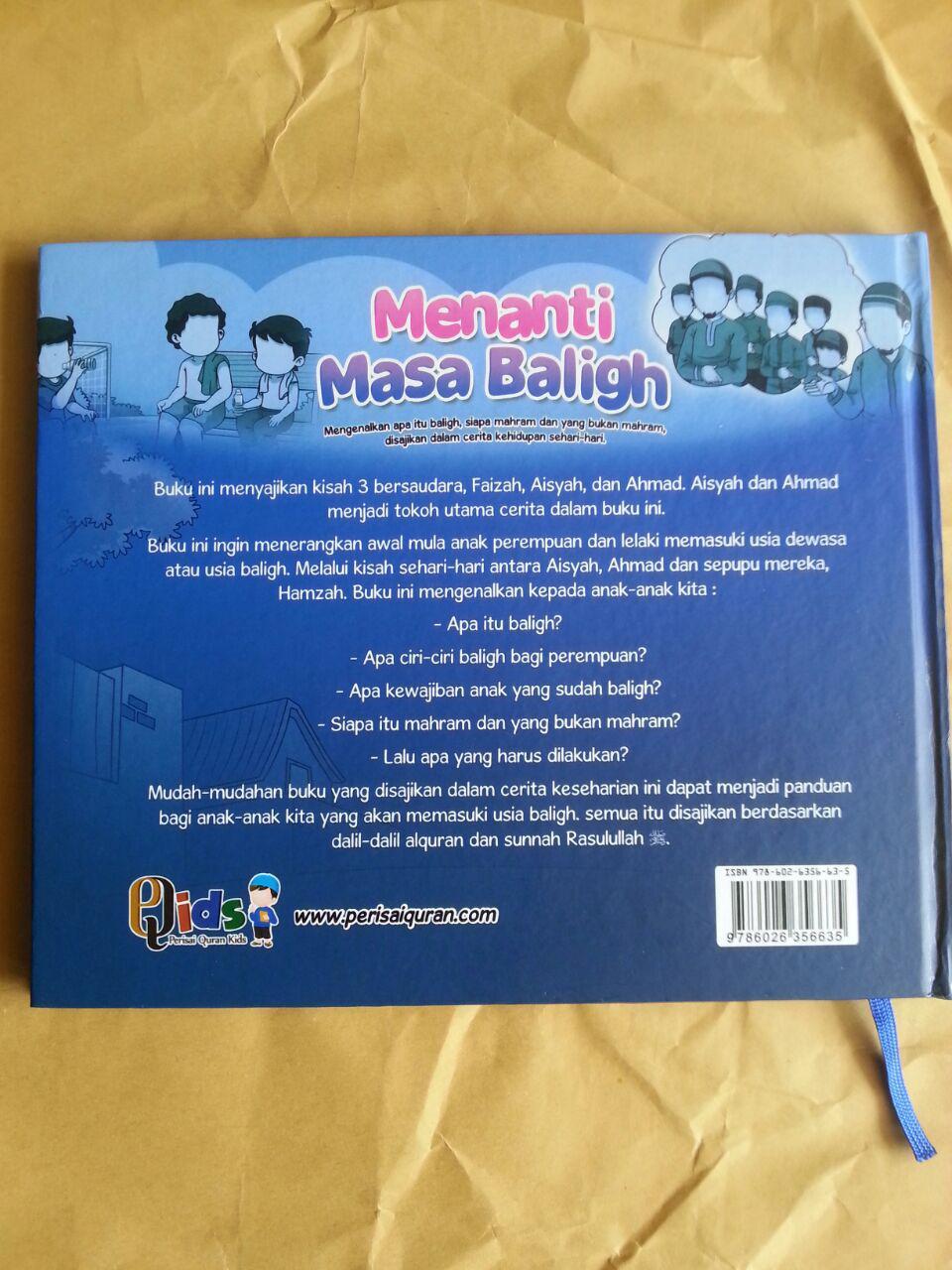 Buku Anak Menanti Masa Baligh Mengenalkan Baligh Mahram Dalam Cerita cover