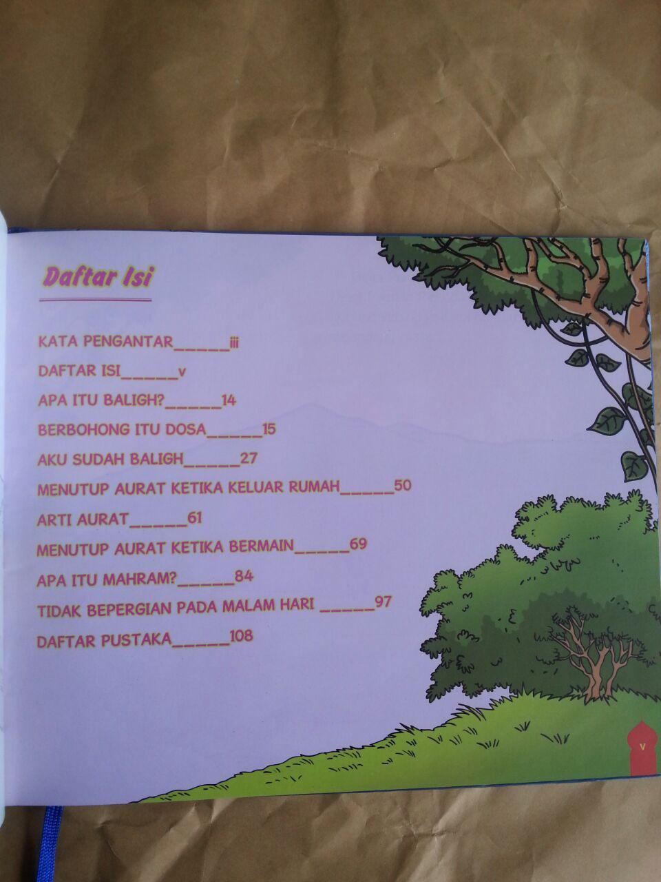 Buku Anak Menanti Masa Baligh Mengenalkan Baligh Mahram Dalam Cerita isi 2