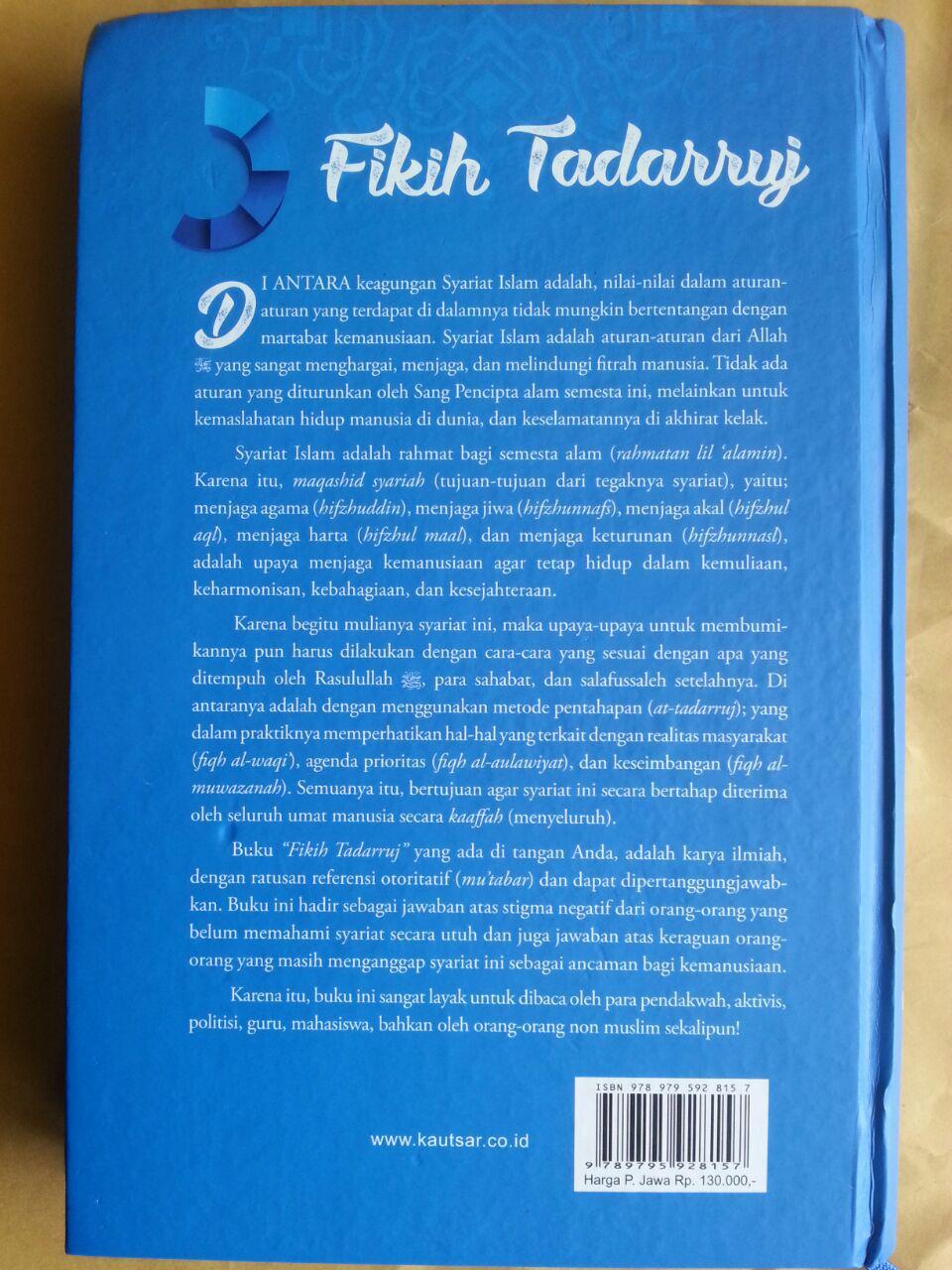 Buku Fikih Tadarruj Tahapan-Tahapan Dalam Membumikan Syariat Islam cover 2