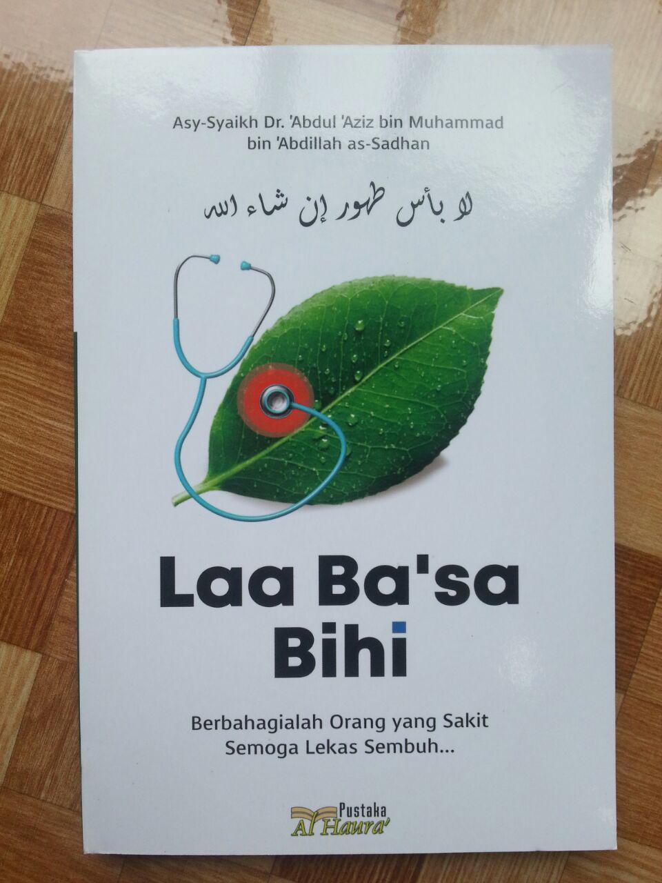 Buku Laa Ba'sa Bihi Berbahagialah Orang Yang Sakit cover 2