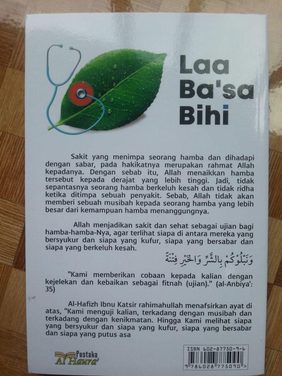 Buku Laa Ba'sa Bihi Berbahagialah Orang Yang Sakit cover