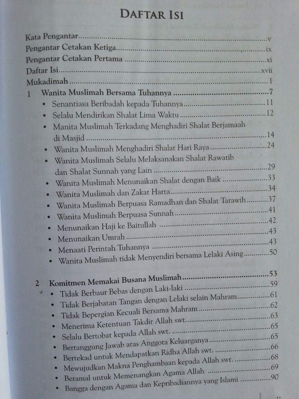 Buku Syakhshiyatul Mar'ah Al-Muslimah Membentuk Pribadi Muslimah Ideal isi
