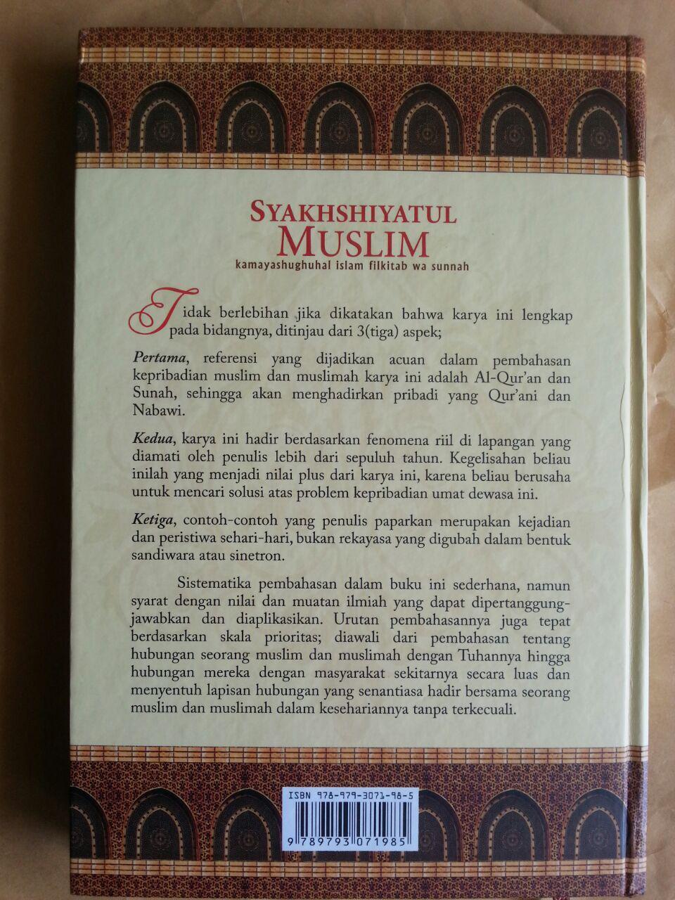 Buku Syakhshiyatul Muslim Membentuk Pribadi Muslim Ideal cover