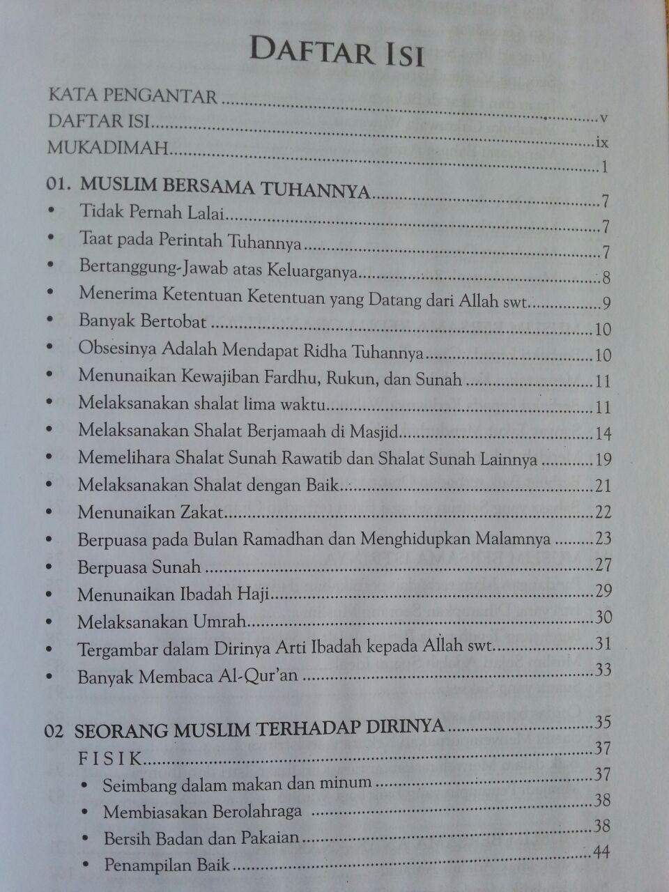 Buku Syakhshiyatul Muslim Membentuk Pribadi Muslim Ideal isi