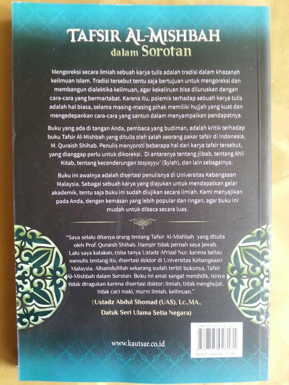 Buku Tafsir Al-Mishbah Dalam Sorotan cover