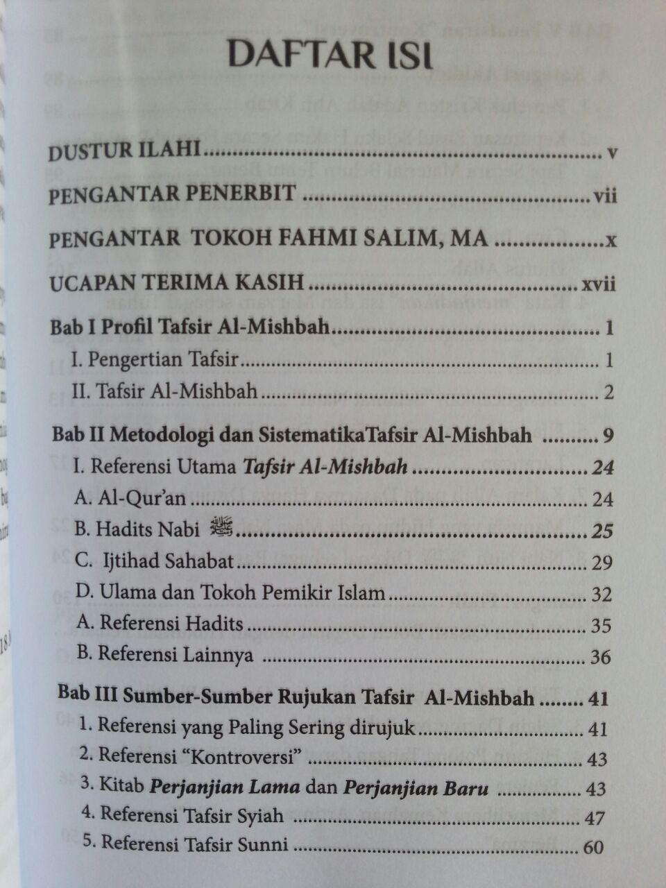 Buku Tafsir Al-Mishbah Dalam Sorotan isi 2