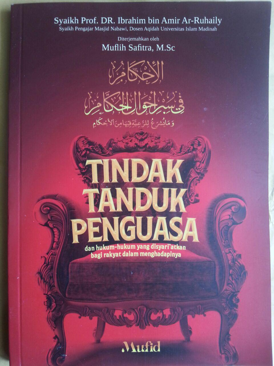 Buku Tindak Tanduk Penguasa Dan Hukum Syariat Rakyat Menghadapinya cover 2