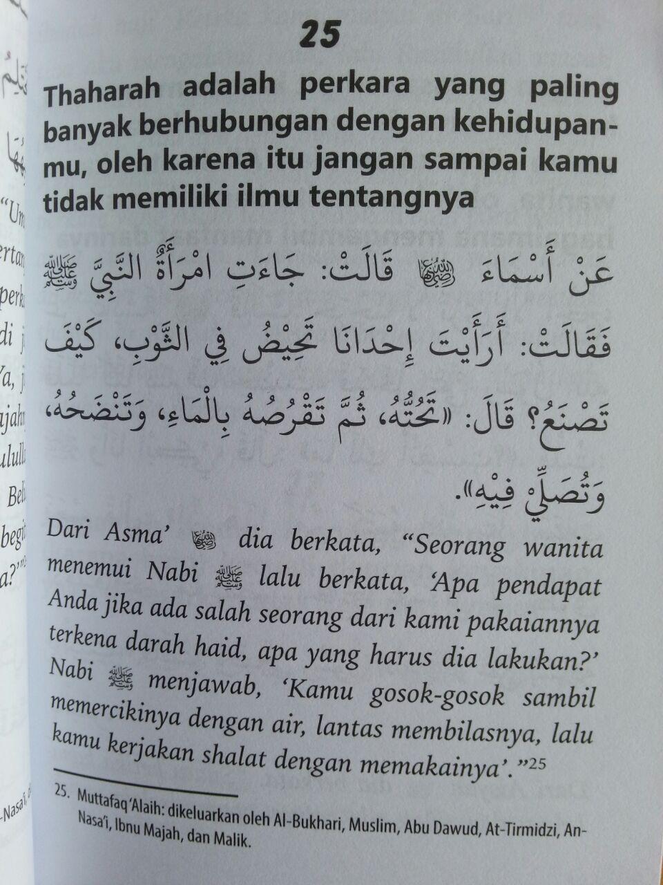 Buku Umdatul Mar'ah 100 Hadits Landasan Hukum Bagi Wanita isi 3