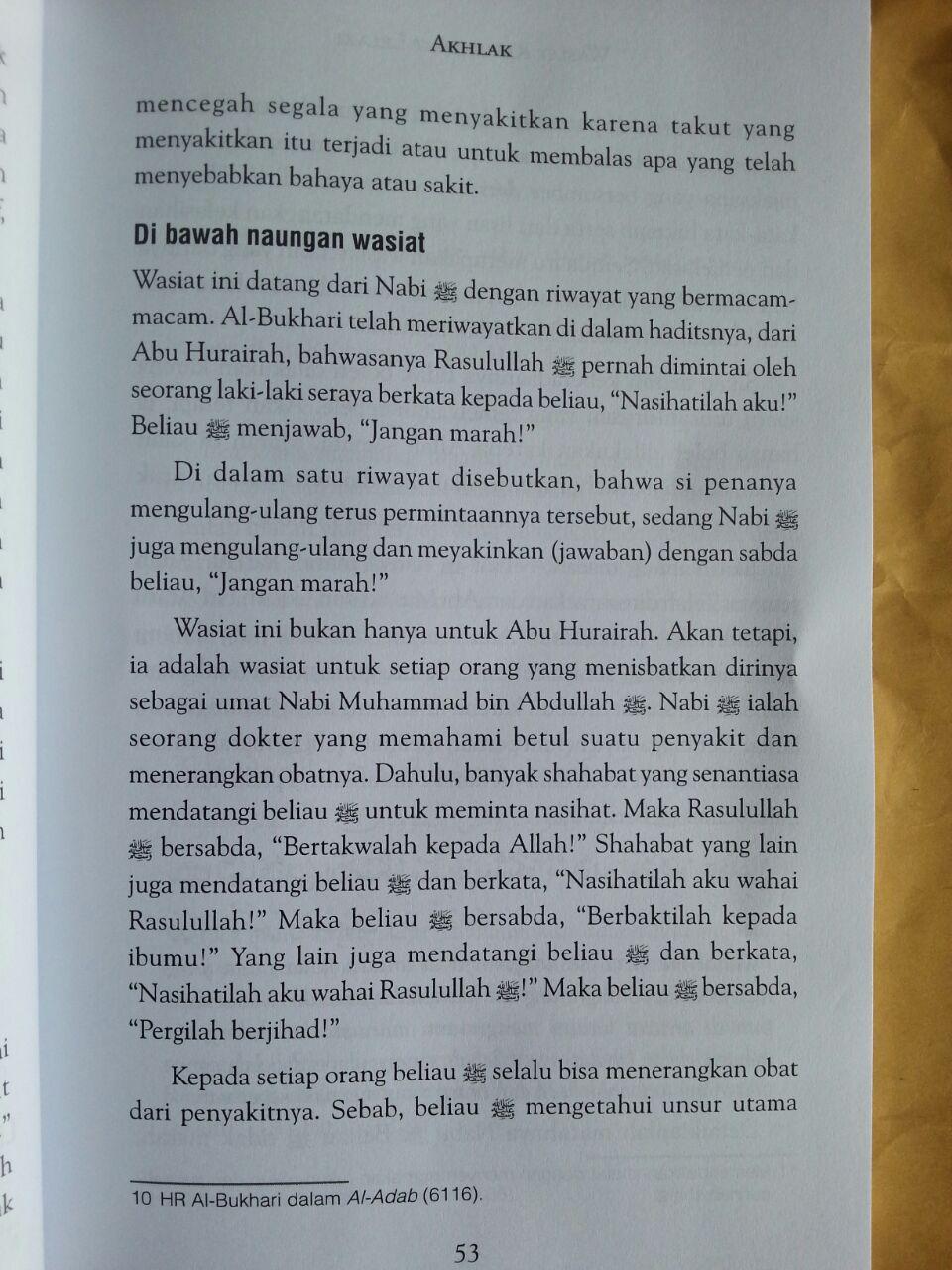 Buku Wasiat Rasul Buat Lelaki Intisari Ibadah Muamalah Akhlak isi 3