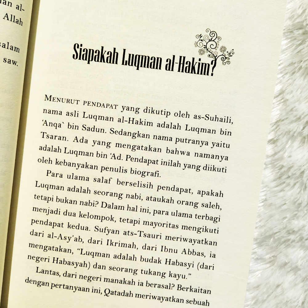 Buku Hikmah Luqman Al-Hakim 88 Inspirasi Ayah Bunda