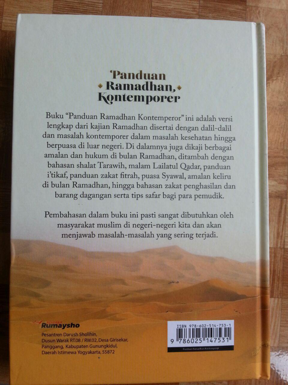 Buku Panduan Ramadhan Kontemporer cover