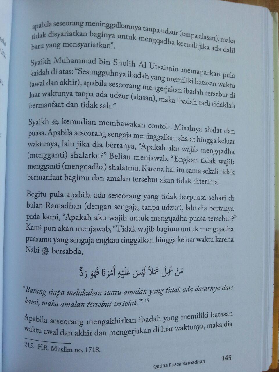 Buku Panduan Ramadhan Kontemporer isi 3