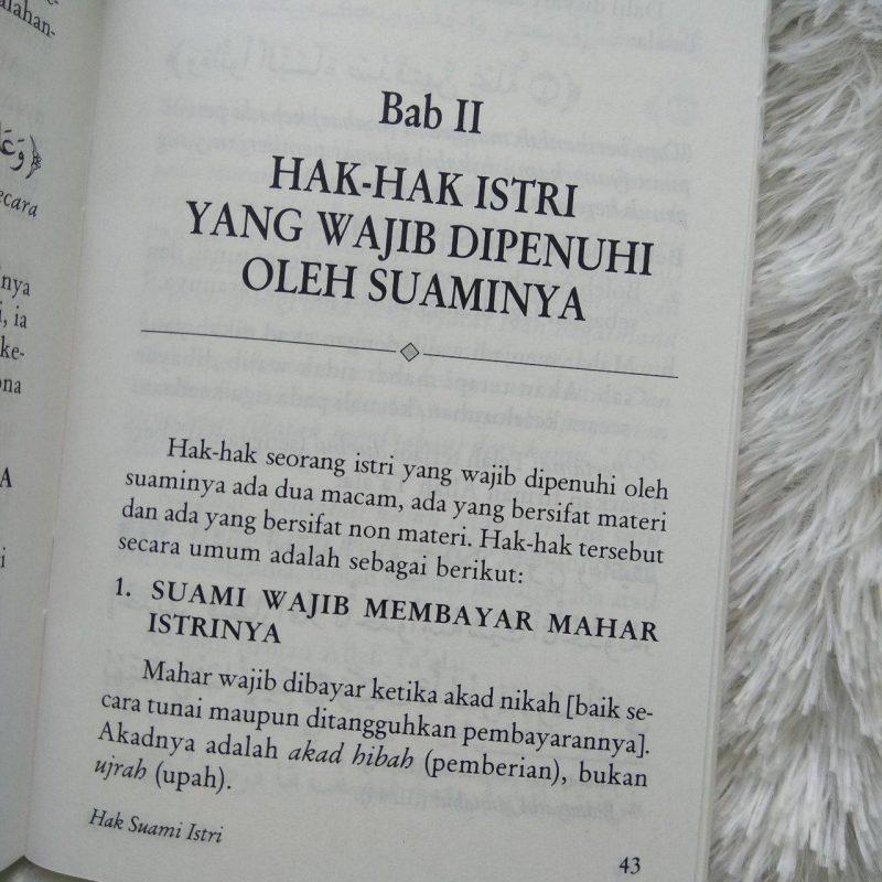 Buku Saku Hak Suami Istri Sesuai Tuntunan Rasulullah
