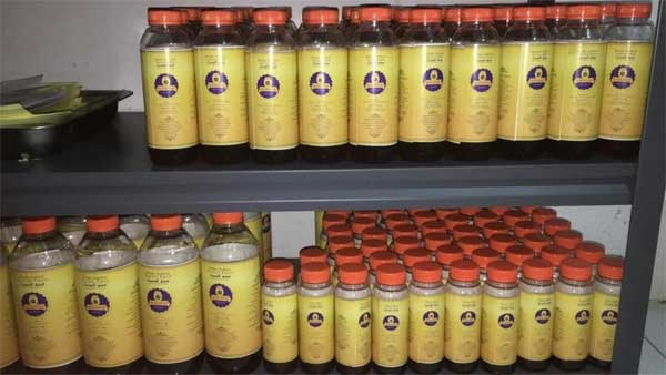 Madu Mesir Sokhro Gurun Pasir Kualitas Super 1 Kg Botolan