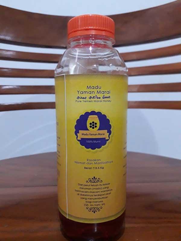Madu Murni Yaman Marai Botol