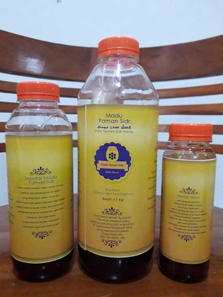 Madu Murni Yaman Sidr Botolan
