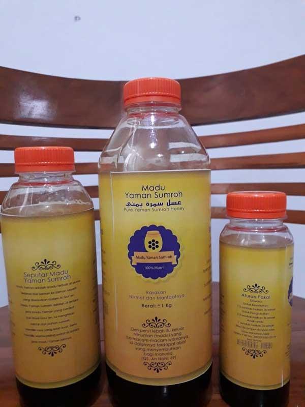 Madu Murni Yaman Sumroh Botolan