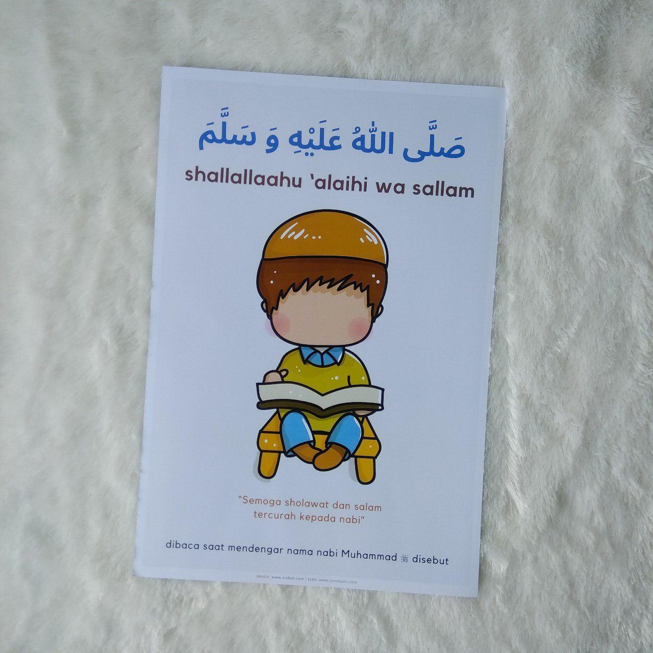 Poster Anak Shalawat Shallallahu Alaihi Wa Sallam