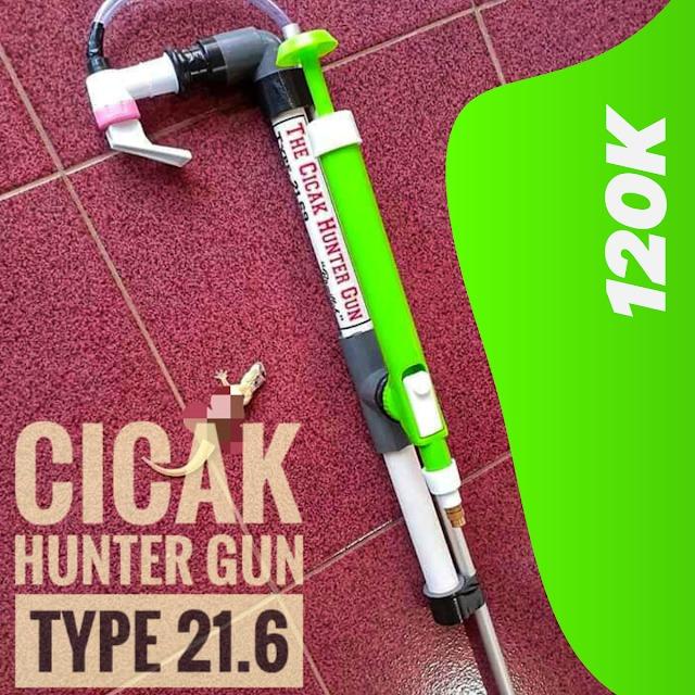Cicak Hunter Gun 2