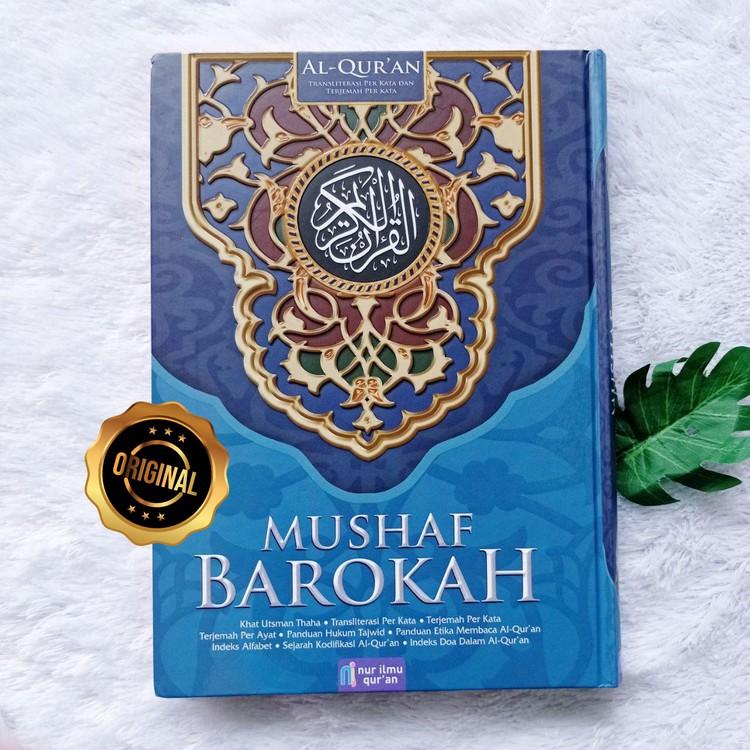 Al-Qur'an Mushaf Barokah Transliterasi Terjemah Per Kata Ukuran A4