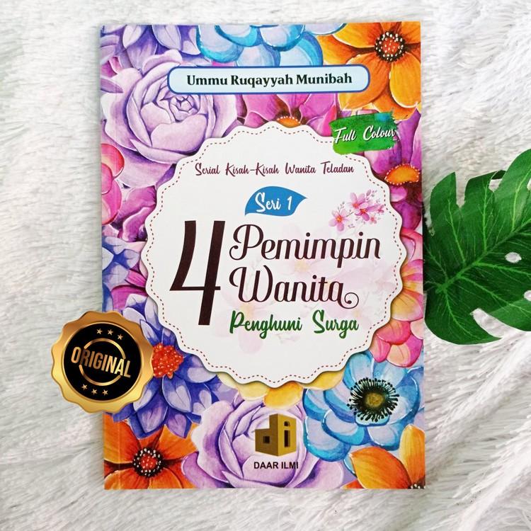 Buku 4 Pemimpin Wanita Penghuni Surga Serial Kisah Wanita Teladan Seri 1