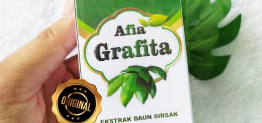 Herbal Afia Grafita Ekstrak Daun Sirsak Penangkal Kanker