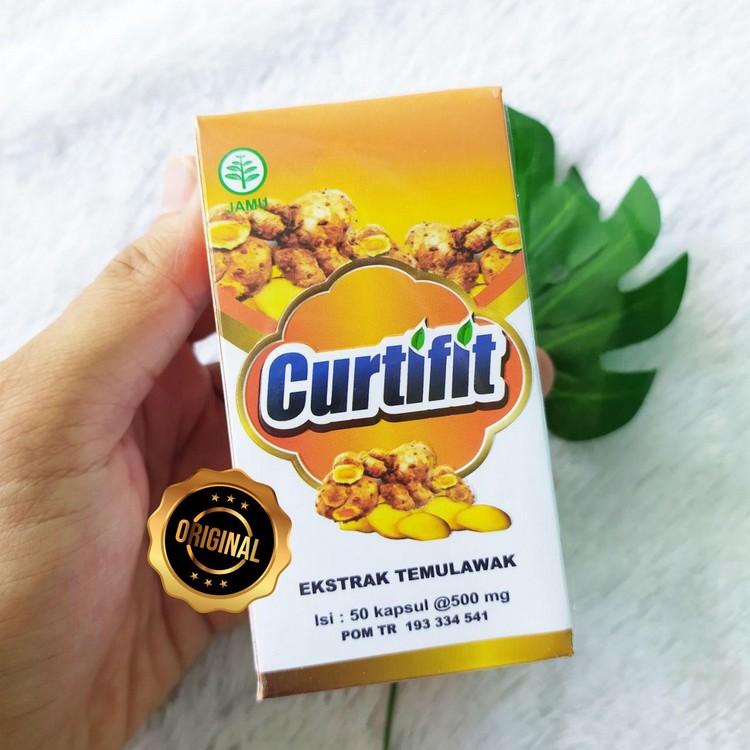 Herbal Curtifit Ekstrak Temulawak Membantu Kesehatan Fungsi Hati