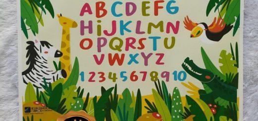 Poster Anak Mengenal Alfabet Dan Angka