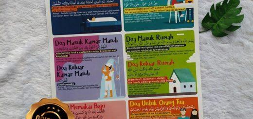 Poster Doa Sehari-Hari Berdasarkan Al-Qur'an Dan As-Sunnah