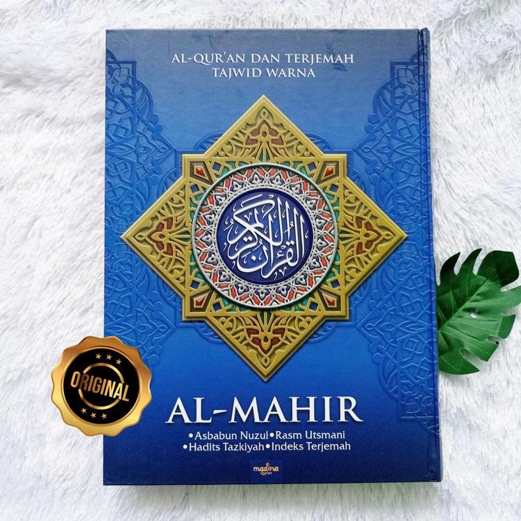 Al-Qur'an Dan Terjemah Tajwid Warna Al-Mahir HC A4