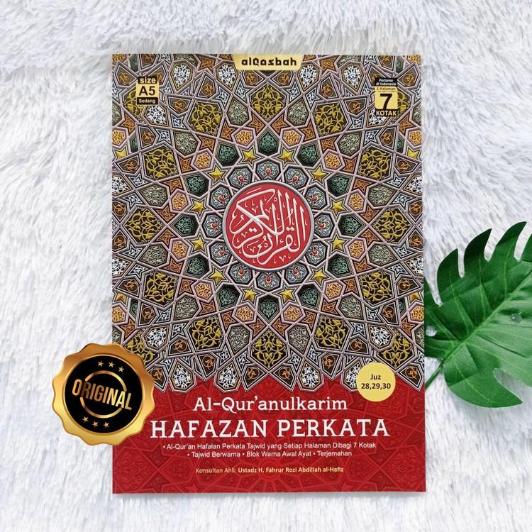 Al-Qur'an Hafalan Super Mudah Untuk Pemula Hafazan A5