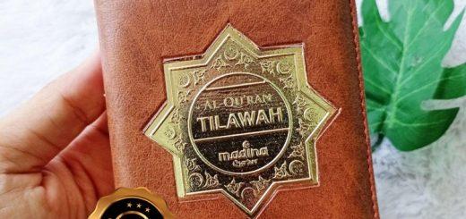 Al-Qur'an Tilawah Tajwid Mushaf Mina Resleting A6