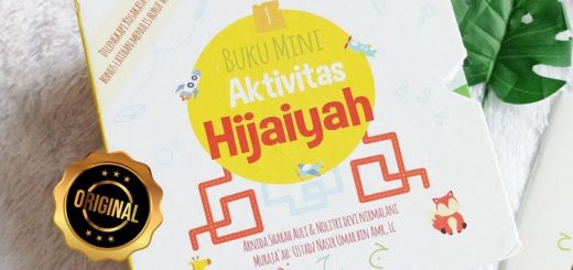 Buku Mini Aktivitas Hijaiyah Anak Kosakata Belajar Menulis