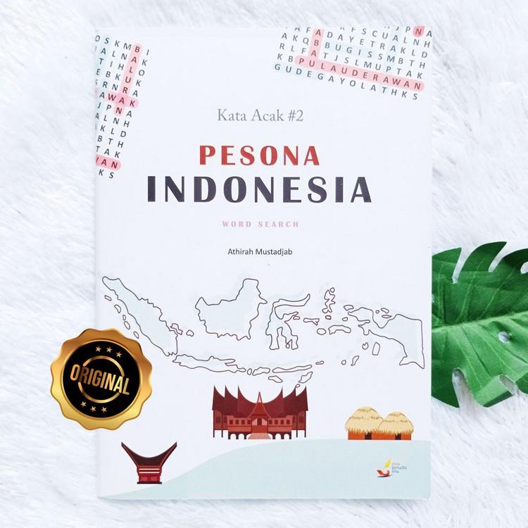 Buku Anak Kata Acak Pesona Indonesia Word Search Seri 2