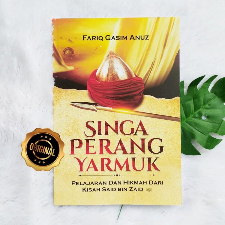Buku Singa Perang Yarmuk Pelajaran Hikmah Kisah Said Bin Zaid RA